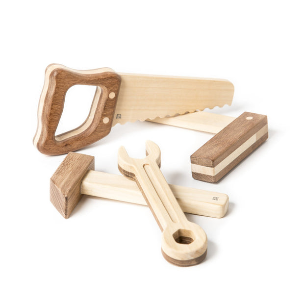 wooden tool set for kids