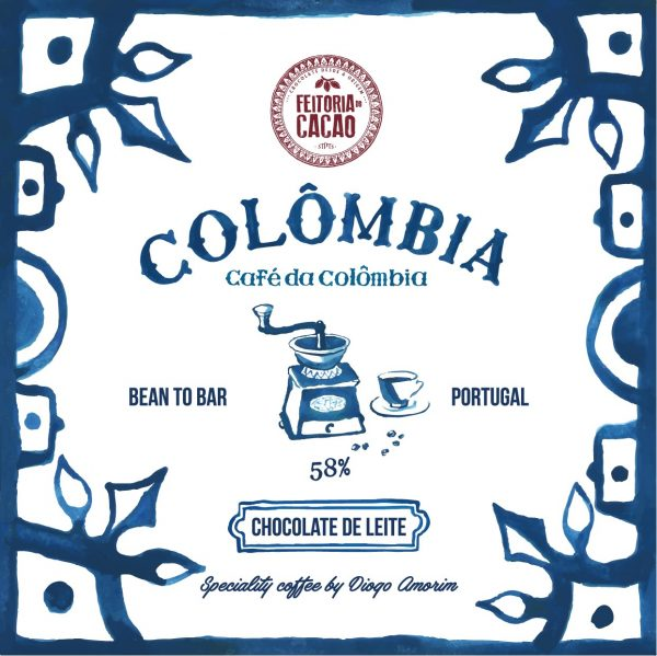Feitoria Do Cacao bean to bar milk chocolate with coffee - colombia