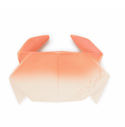 natural rubber bath toy and teether crab