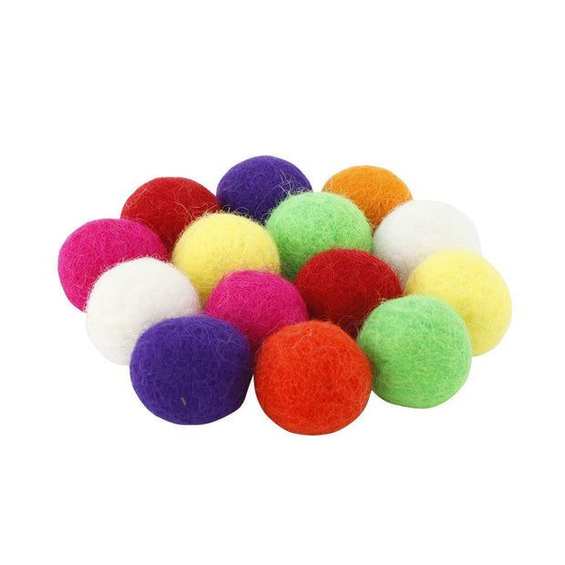 14 colourful ammo balls for slingshot