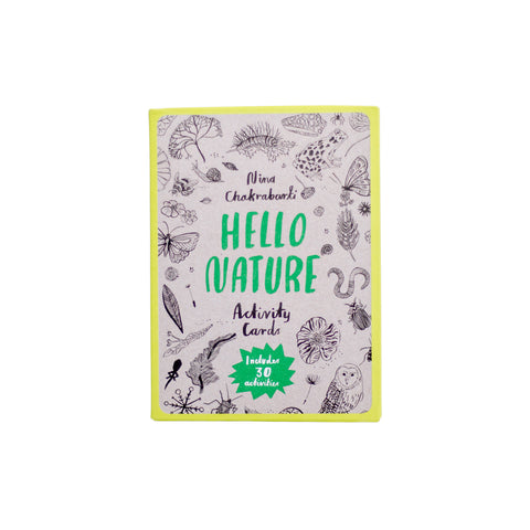 Laurence King Publishing Hello Nature Activity Cards for kids