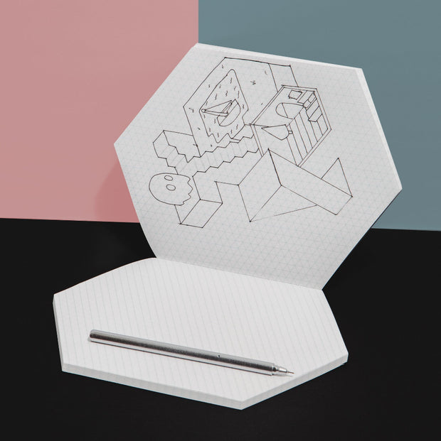 poketo isometric notebook interior