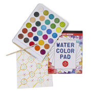kid made modern wondrous watercolour kit with paper