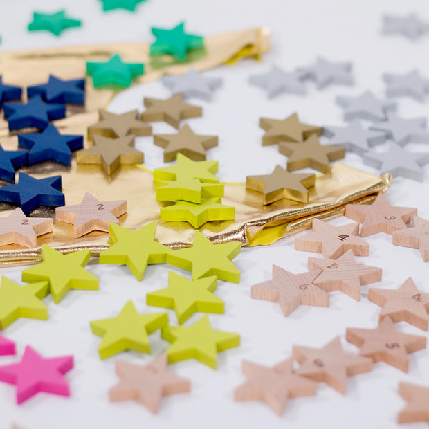 Kiko & gg Tanabata A Hundred Little Stars wooden domino set