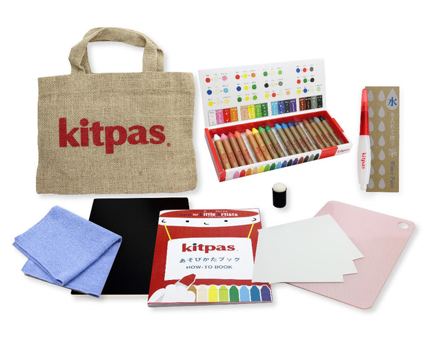 Kitpas for Little Artists set of crayons and papers