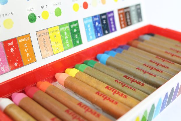 Kitpas 16 Colours Medium Crayons