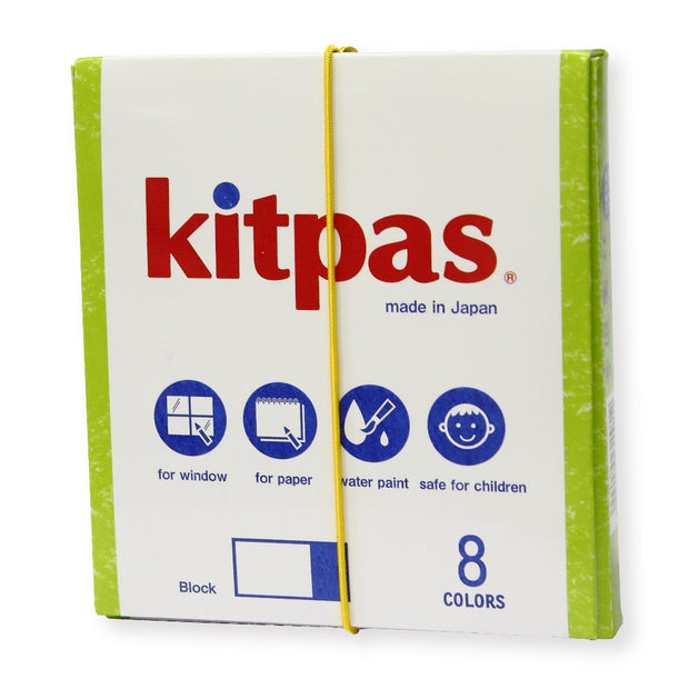 Kitpas 8 Colours Crayon Blocks