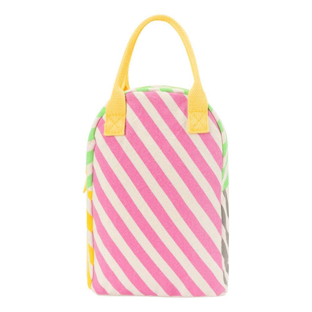 fluf Lill B kids backpack Candy Stripe