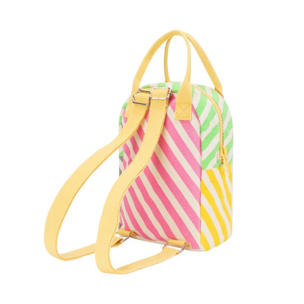 fluf Lil B kids backpack Candy Stripe