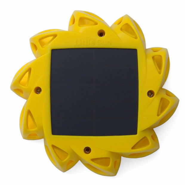 little sun sunflower shaped solar light