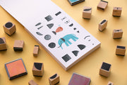 Londji Activities 16 Wooden Stamps - Bam! Create Your Animals