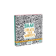 Londji Activities 28 Wooden Stamps - Bam! Create Your Words