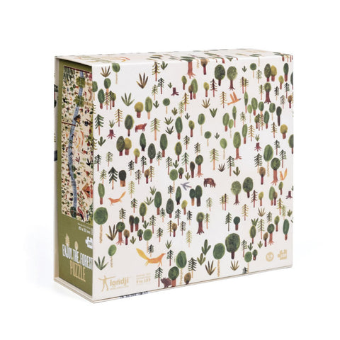 Londji 100 Piece jigsaw Puzzle - Enjoy The Forest
