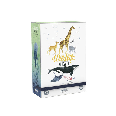 Londji wildlife Memory Game for kids