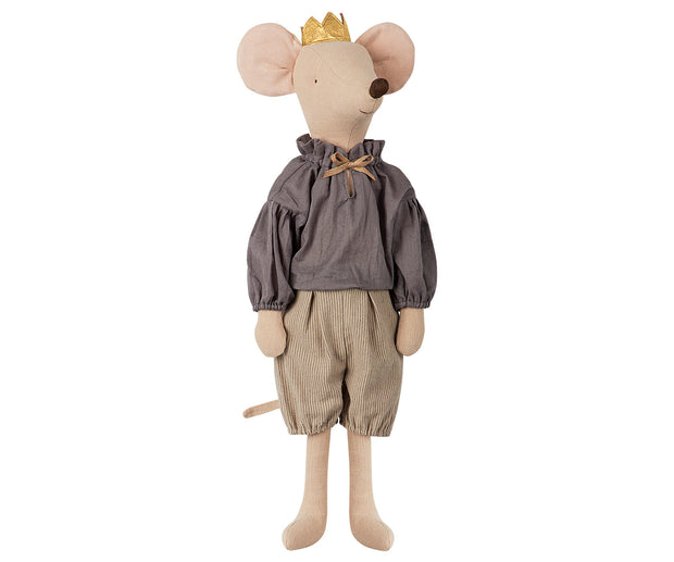 maileg maxi mouse prince soft toy