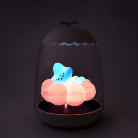 babywatch petit akio bright night light switched on