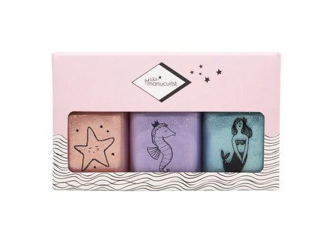 Manucurist Nail Polish Set - Bonnie, Stella, Janis