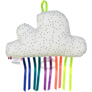 mellipou musical cloud with colourful ribbons