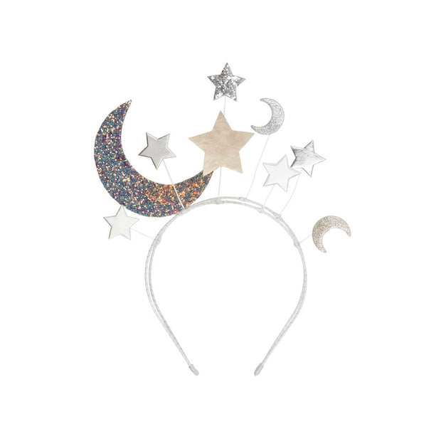 Mimi & Lula Night Sky Headdress - Silver