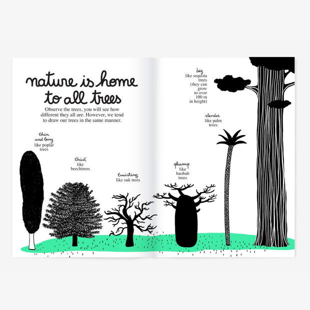 Minus Editions My Tree, My Friend activity book