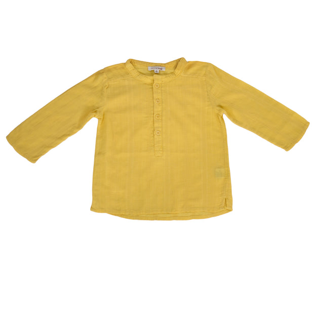 sunchild boys Negril yellow cotton summer shirt