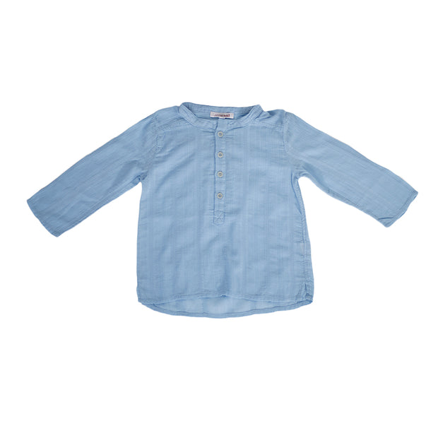sunchild boys Negril blue cotton summer shirt