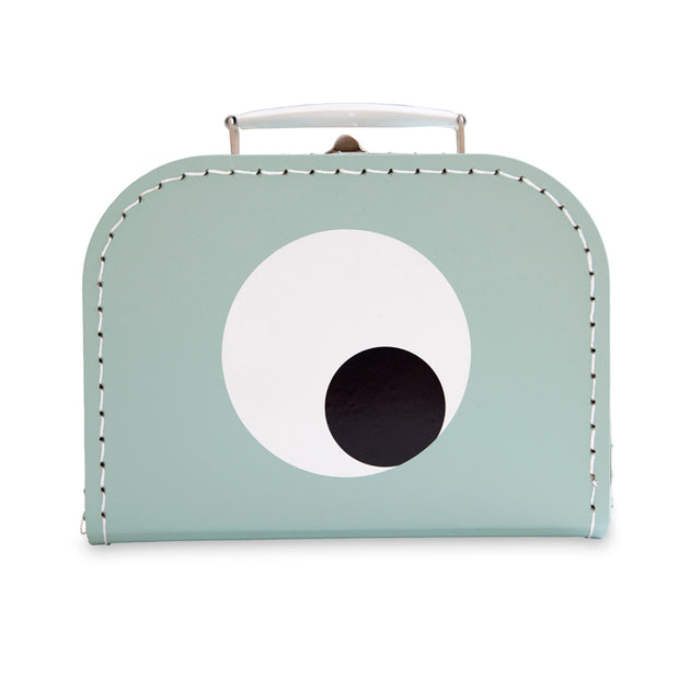 Olli+Jeujeu Small Suitcase Eye Mint