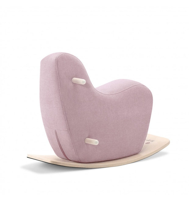 Ooh Noo Small Rocking Horse - Pale Pink
