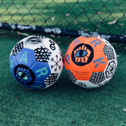 Park SSC orange and blue football