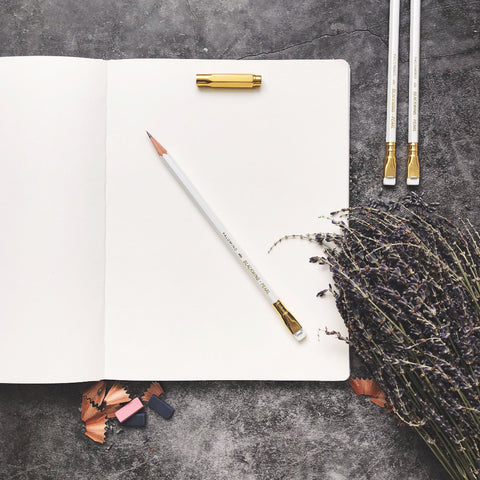 blackwing white pearl pencil