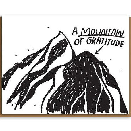 People I've Loved Card - Mountain of Gratitude