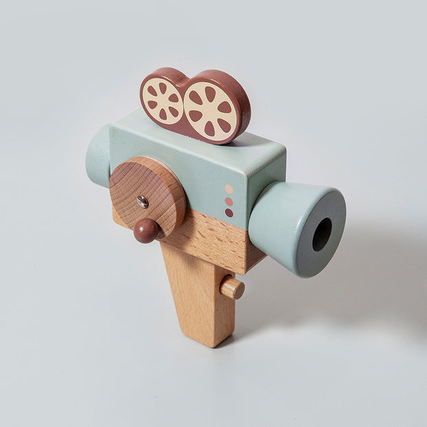 Petit Monkey Wooden Video Camera
