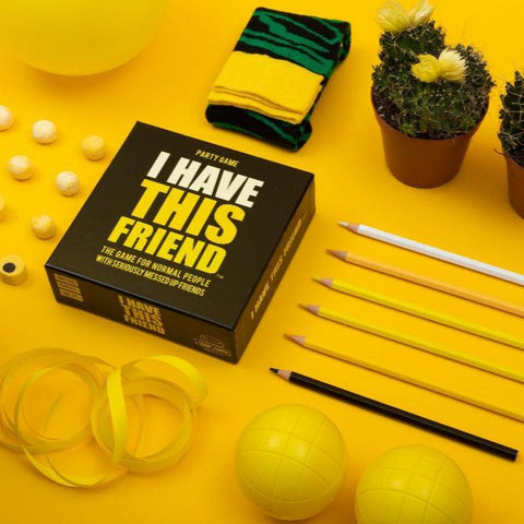 Hygge Games I Have This Friend Party Game