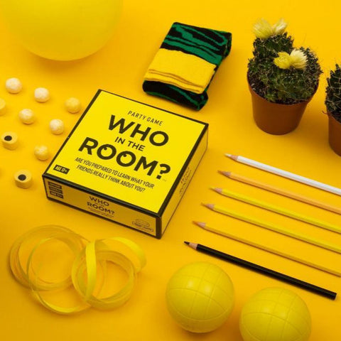 Hygge Games Who in The Room party game