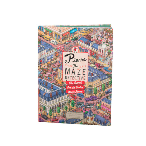 Laurence King Publishing Pierre The Maze Detective children Book