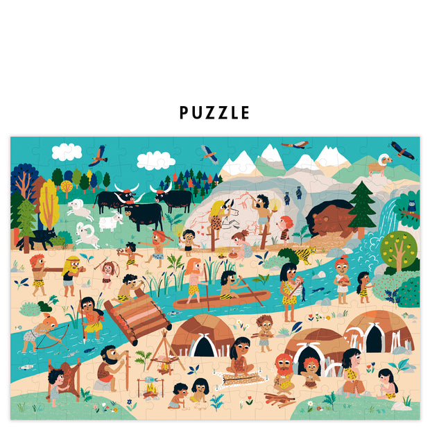 Pirouette Cacahouète Puzzle - Back to The Prehistory