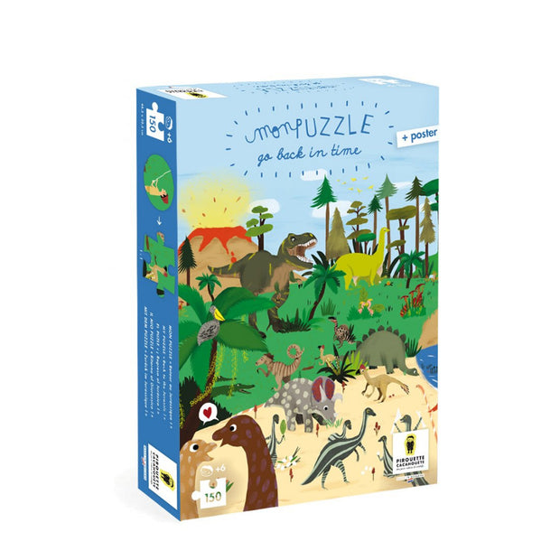 Pirouette Cacahouète Puzzle - Back to The Jurassic