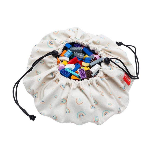 Play & Go Mini Storage Bag - Rainbows