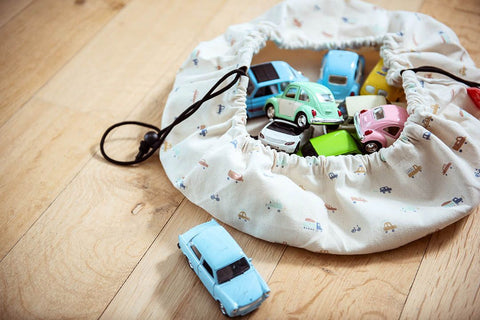 Play & Go Mini Storage Bag - Cars