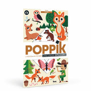 Poppik Discovery Sticker Poster - Forest