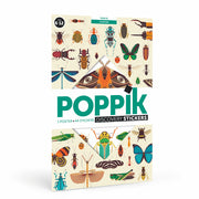 Poppik Discovery Sticker Poster  Insects