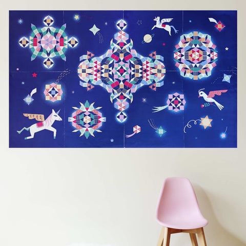 Poppik Creative Sticker Poster - Constellation