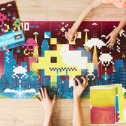 Poppik Creative Sticker Poster - Video Game