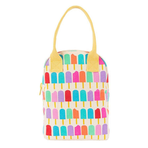 fluf Zipper Lunch Bag Popsicle