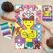 Poppik Creative Sticker Poster - Pop Art