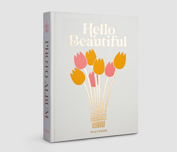 Printworks Large Coffee Table Photo Album - Hello Beautiful