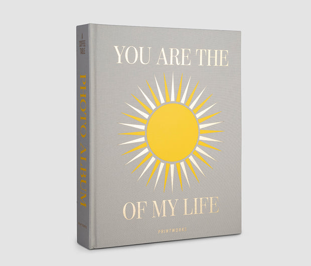 Printworks Large Coffee Table Photo Album - You Are The Sunshine
