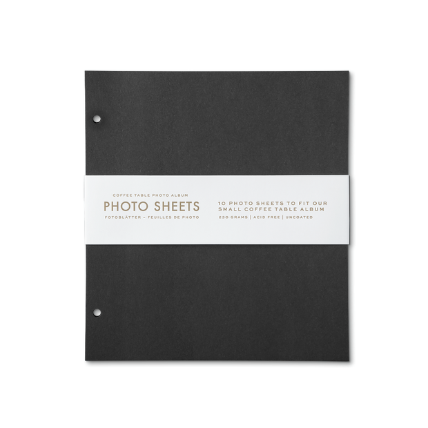 Printworks 10 Photo Sheets for Small Coffee Table Album