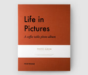Printworks Large Coffee Table Photo Album - Life In Pictures