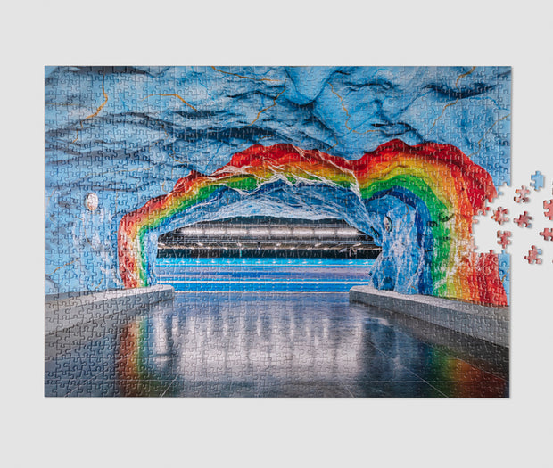 printworks subway art 1000 piece jigsaw puzzle